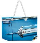 1960 Chevrolet Impala Emblem -340c Weekender Tote Bag