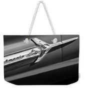 1960 Chevrolet Impala Side Emblem Weekender Tote Bag