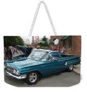 1960 Chevy El Camino Weekender Tote Bag