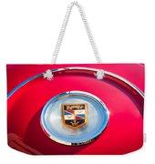 1960 Chrysler Imperial Crown Convertible Emblem Weekender Tote Bag