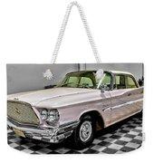 1960 Chrysler Windsor Weekender Tote Bag