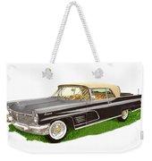 1960 Continental Convertible Weekender Tote Bag