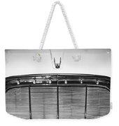 1960 Desoto Fireflite Two-door Hardtop Grille Emblem -0931bw Weekender Tote Bag