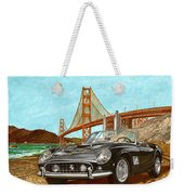 1960 Ferrari 250 California G T Weekender Tote Bag