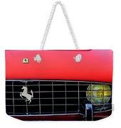 1960 Ferrari 250 Gt Cabriolet Pininfarina Series II Grille Emblem Weekender Tote Bag