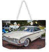 1960 Ford Starliner Weekender Tote Bag