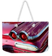 1960 Jet Engine Styling Weekender Tote Bag