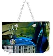 1960 Mercedes-benz 220 Se Convertible Hood Ornament Weekender Tote Bag