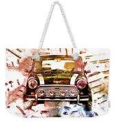 1960s Mini Cooper Weekender Tote Bag by David Ridley
