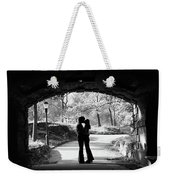1960s Silhouette Of Anonymous Young Weekender Tote Bag
