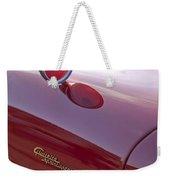 1961 Alfa Romeo Giulietta Sprint Speciale Emblem Weekender Tote Bag