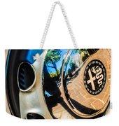 1961 Alfa Romeo Giulietta Sprint Speciale Wheel Emblem -0051c Weekender Tote Bag