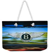 1961 Bentley S2 Continental - Flying Spur - Emblem Weekender Tote Bag