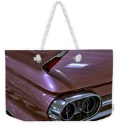 1961 Cadillac Coupe 62 Taillight Weekender Tote Bag