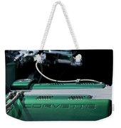 1961 Chevrolet Corvette Engine Weekender Tote Bag
