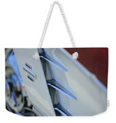 1961 Chevrolet Corvette Side Emblem 4 Weekender Tote Bag