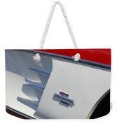 1961 Chevrolet Corvette Side Emblem Weekender Tote Bag