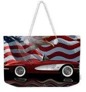 1961 Corvette Tribute Weekender Tote Bag