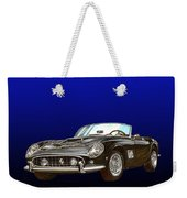 1961 Ferrari 250 G T California Weekender Tote Bag