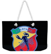 1961 Fiat-abarth 1000 Bialbero Gt Competition Coupe Emblem Weekender Tote Bag