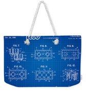 1961 Lego Building Blocks Patent Art 4 Weekender Tote Bag