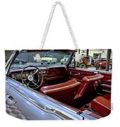 1961 Lincoln Continental Interior Weekender Tote Bag