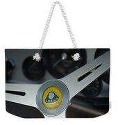 1961 Lotus Elite Series II Coupe Steering Wheel Emblem Weekender Tote Bag