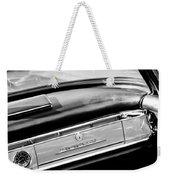 1961 Mercedes-benz 300 Sl Roadster Dashboard Emblem Weekender Tote Bag