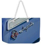 1962 Chevrolet Impala Emblem Weekender Tote Bag