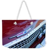 1962 Chevrolet Impala Ss Grille Weekender Tote Bag