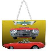 1962 Ford T-bird Sport Weekender Tote Bag
