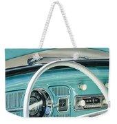 1962 Volkswagen Vw Beetle Cabriolet Steering Wheel Weekender Tote Bag