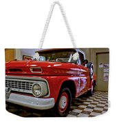1963 Chev Pick Up Weekender Tote Bag