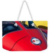 1963 Chevrolet Corvette Convertible Emblem Weekender Tote Bag