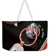 1963 Chevrolet Corvette Dashboard Weekender Tote Bag