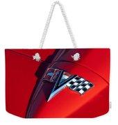 1963 Chevrolet Corvette Hood Emblem Weekender Tote Bag
