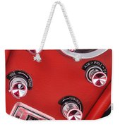 1963 Chevrolet Corvette Split Window Dash -334c Weekender Tote Bag