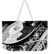 1963 Chevrolet Corvette Split Window Engine -147bw Weekender Tote Bag