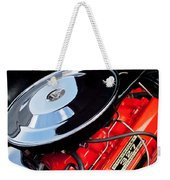 1963 Chevrolet Corvette Split Window Engine -147c Weekender Tote Bag