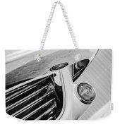 1963 Chevrolet Corvette Split Window Grille -221bw Weekender Tote Bag