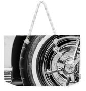 1963 Chevrolet Corvette Split Window Wheel -090bw Weekender Tote Bag