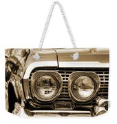 1963 Chevrolet Impala Ss In Sepia Weekender Tote Bag