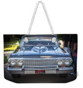 1963 Chevrolet Impala Ss 409 Weekender Tote Bag