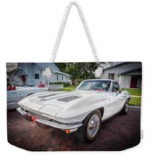 1963 Chevy Corvette Coupe Painted  Weekender Tote Bag