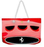 1963 Ferrari 250 Gto Grille Emblem -1753c Weekender Tote Bag