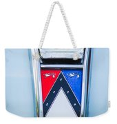 1963 Ford Falcon Futura Convertible Emblem Weekender Tote Bag