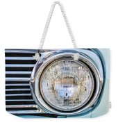 1963 Ford Falcon Futura Convertible Headlight - Hood Ornament Weekender Tote Bag