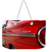 1963 Ford Falcon Name Plate Weekender Tote Bag
