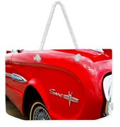 1963 Ford Falcon Sprint Weekender Tote Bag