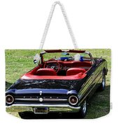 1963 Ford Futura Convertible Weekender Tote Bag